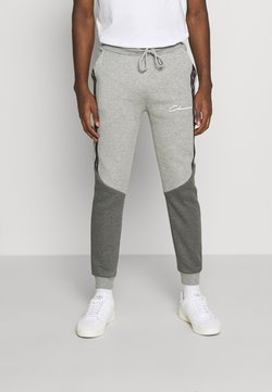 CLOSURE London - CONTRAST JOGGER WITH TAPING - Jogginghose - grey