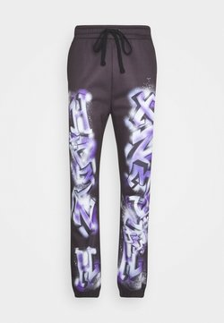 Jaded London - GRAFFITI JOGGERS - Jogginghose - black