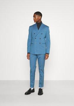 Selected Homme - SLHSLIM DAXLOGAN - Garnitur - heritage blue