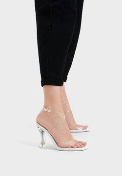 Bershka - Sandaletter - white