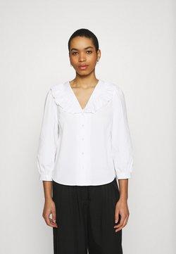 Moss Copenhagen - BRISA AVA 3/4 SHIRT - Blouse - bright white