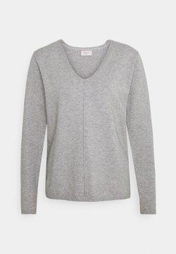 Freequent - Trui - grey melange