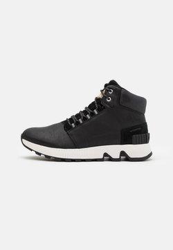 Sorel - HILL MID WP - Sneaker high - black