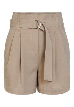 YAS - JENNIFER - Shorts - light taupe