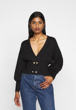 Fashion Union Petite - MEEKER - Vest - black
