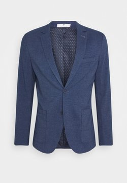 TOM TAILOR - DOBBY - Veste de costume - blue