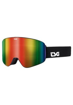 TSG - FOUR S - Skibril - solid black/rainbow chrome