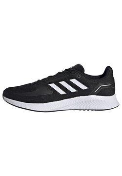 adidas Performance - RUNFALCON 2.0 - Zapatillas de running neutras - cblack/ftwwht/gresix