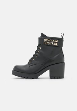 Versace Jeans Couture - Lace-up ankle boots - nero