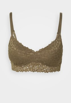 aerie - EXCLUSIVE REAL GOOD BRALETTE - Push-up BH - olive thermal