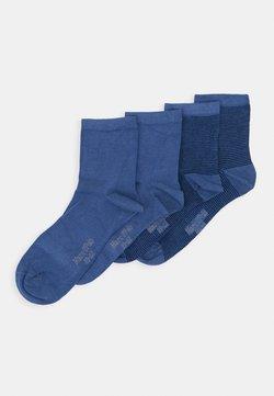 Marc O'Polo - SOCKS 4 PACK - Socken - jeans