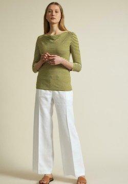 Lanius - Langarmshirt - olive/off white