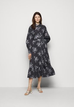 Cinq à Sept - FREESIA MARLEY DRESS - Blusenkleid - black/multi coloured