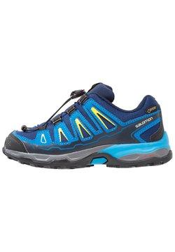 Salomon - X-ULTRA GTX - Hikingschuh - blue depths/cloisonné/blazing yellow