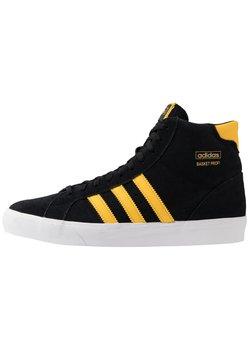 adidas Originals - BASKET PROFI - Korkeavartiset tennarit - core black/bold gold/footwear white
