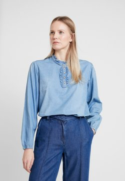 Cream - SANDRINE BLOUSE - Blouse - blue denim