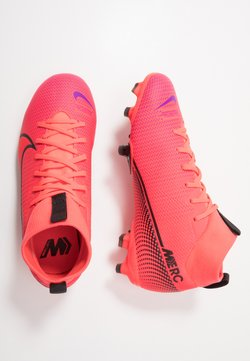 Nike Performance - MERCURIAL JR 7 ACADEMY FG/MG UNISEX - Scarpe da calcetto con tacchetti - laser crimson/black