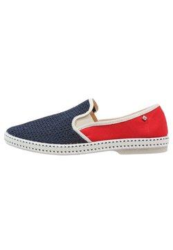 RIVIERAS - FRANCE - Scarpe senza lacci - navy/red