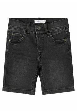 Name it - Shorts vaqueros - black denim