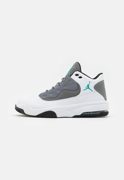 Jordan - MAX AURA 2 - Sneaker high - white/black/neptune green/smoke grey