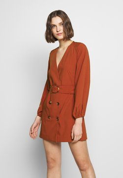 CMEO COLLECTIVE - AVIDITY DRESS - Etuikleid - rosewood