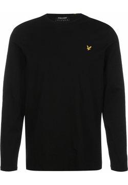 Lyle & Scott - Pitkähihainen paita - jet black