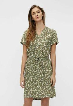 Object - BIRDY DRESS - Vestido camisero - deep lichen green