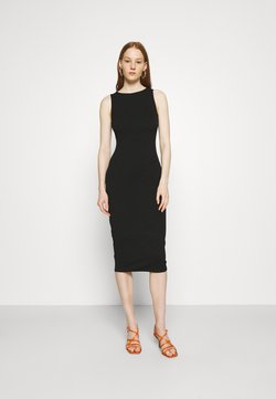 Dorothy Perkins - SLEEVELESS BODYCON DRESS - Vestito di maglina - black