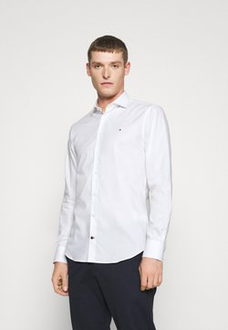 Tommy Hilfiger Tailored - DOBBY DESIGN CLASSIC - Camicia elegante - white