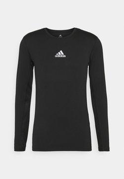 adidas Performance - TECH FIT - Tekninen urheilupaita - black