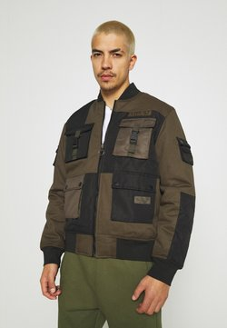 STAPLE PIGEON - TACTICAL JACKET - Blouson Bomber - olive