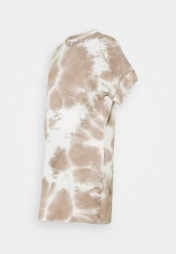 MAMALICIOUS - MLHARMON DRESS - T-shirt imprimé - smoke gray