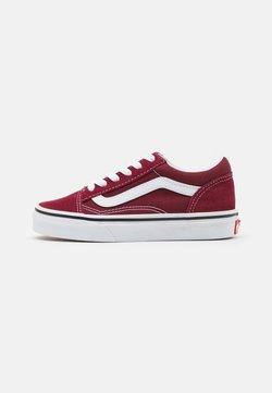 Vans - OLD SKOOL UNISEX - Sneakersy niskie - pomegranate/true white