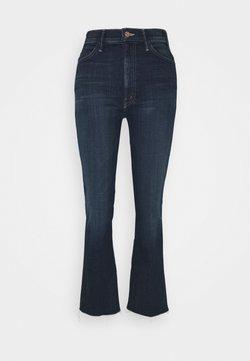 Mother - HUSTLER ANKLE FRAY - Jeans a zampa - dark blue