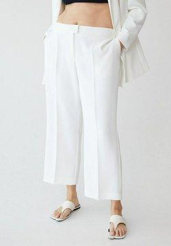 Violeta by Mango - VERONICA - Pantalon classique - off white