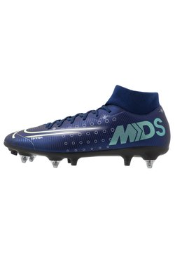 Nike Performance - MERCURIAL SFLY 7 ACADEMY SG-PRO AC - Chaussures de foot à lamelles - blue void/metallic silver/white/black