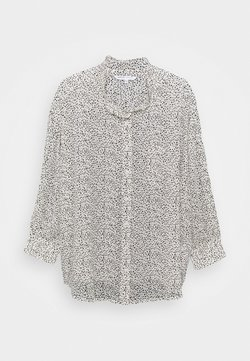 CAPSULE by Simply Be - PRINT OVERSIZED SLOUCHY SHIRT - Bluse - mono