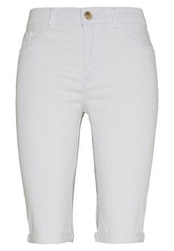 Dorothy Perkins Tall - Jeansshort - white