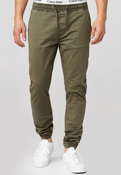 INDICODE JEANS - FIELDS - Stoffhose - army