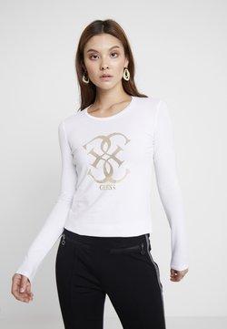 Guess - Maglietta a manica lunga - true white a000