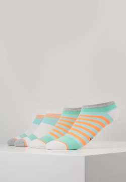 s.Oliver - WOMEN FASHION SNEAKER 4 PACK - Socken - blue tint