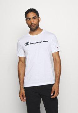 Champion - LEGACY CREWNECK - T-shirt print - white