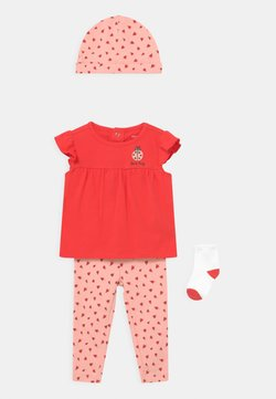 Carter's - LADYBUG SET - T-Shirt print - pink