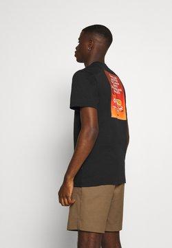 Converse - ALL STAR  ARCHIVE TEE - T-shirt imprimé - black
