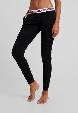 Diesel - UFLB-BABYX TROUSERS - Pyjama bottoms - black