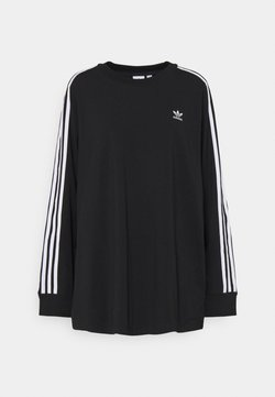 adidas Originals - 3-STRIPES ADICOLOR - Langarmshirt - black