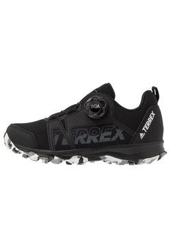 adidas Performance - TERREX AGRAVIC BOA - Obuwie hikingowe - core black/footwear white/grey three