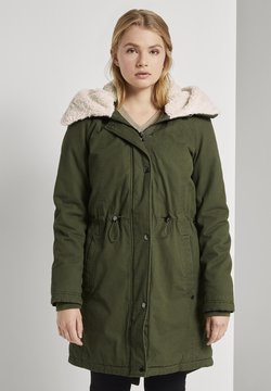 TOM TAILOR DENIM - Parka - deep olive green