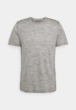 Icebreaker - TECH LITE CREWE FOREVER - T-Shirt print - grey