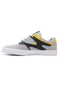 DC Shoes - KALIS VULC - Skateschuh - grey/black/yellow
